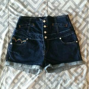 Coogi High Waist Shorts size 13/14
